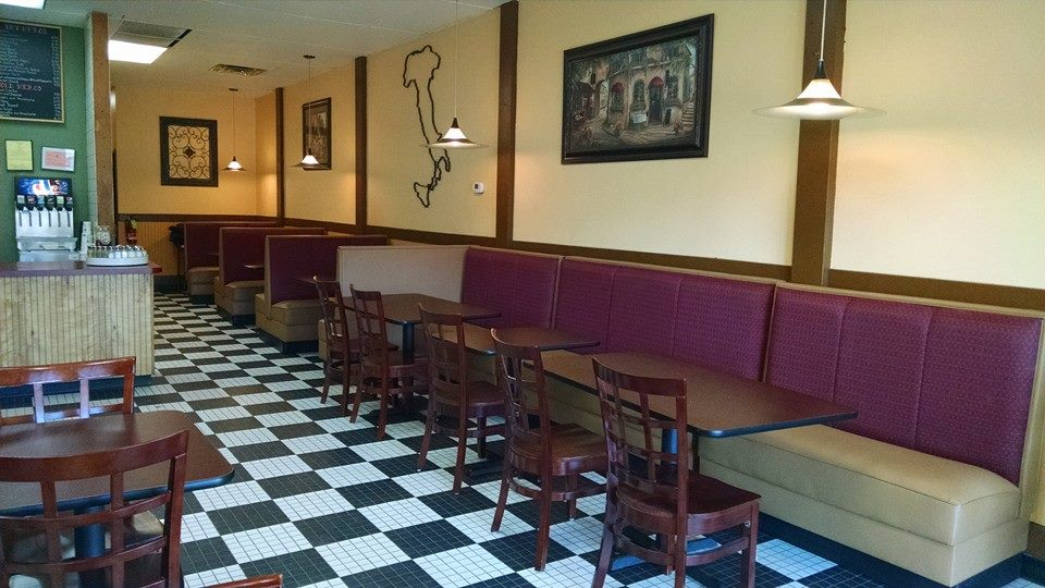 Seating masters helps pizza phil with its successful grand