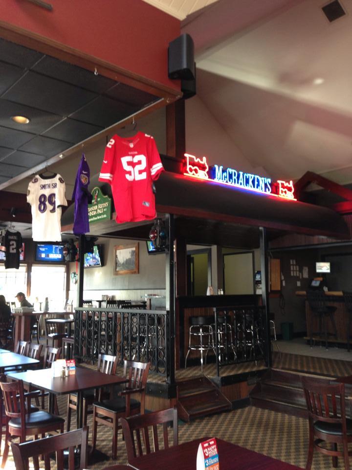 Restaurant furniture canada helps mccracken station pub in