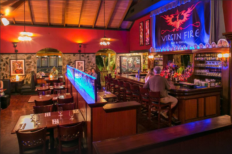 Affordable Seating Helps Virgin Fire Bar & Grill To A