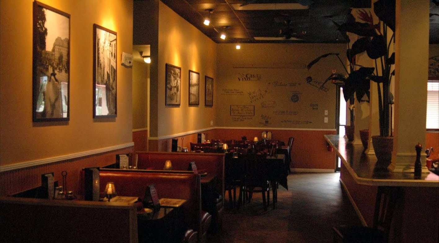 Seating masters helps brano s italian grill grand opening