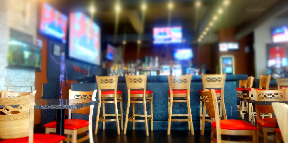 Restaurant furniture canada helps all stars bar grill