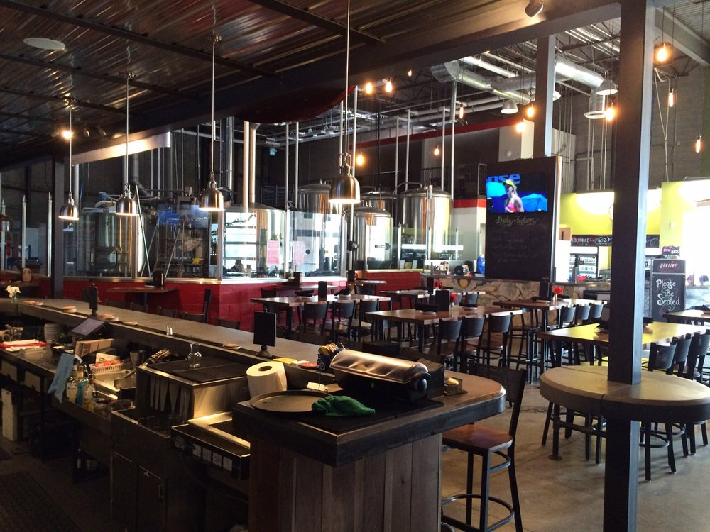 Restaurant furniture canada helps redline brewhouse with