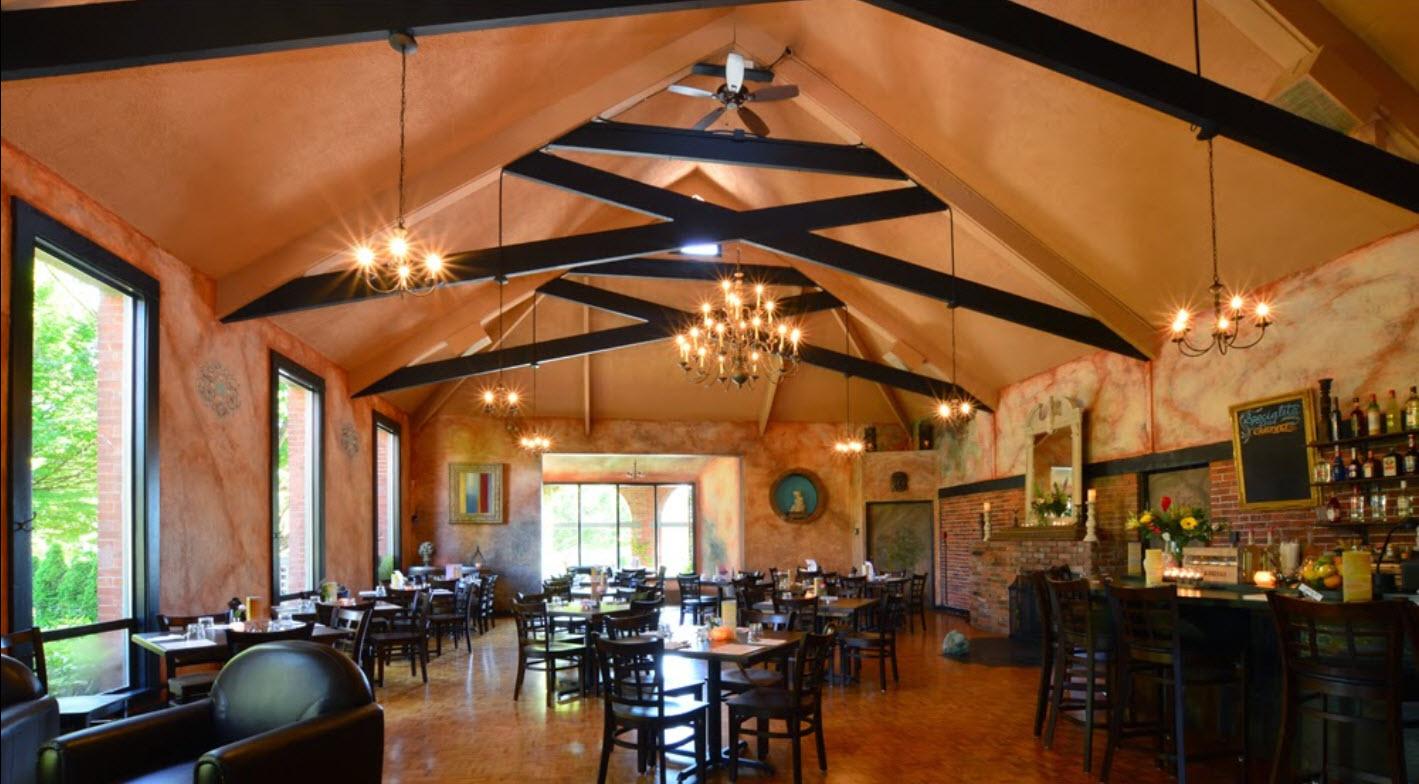Restaurant furniture canada helps il covo trattoria with