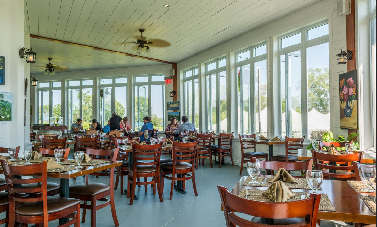 Restaurant furniture canada helps waupoos winery with