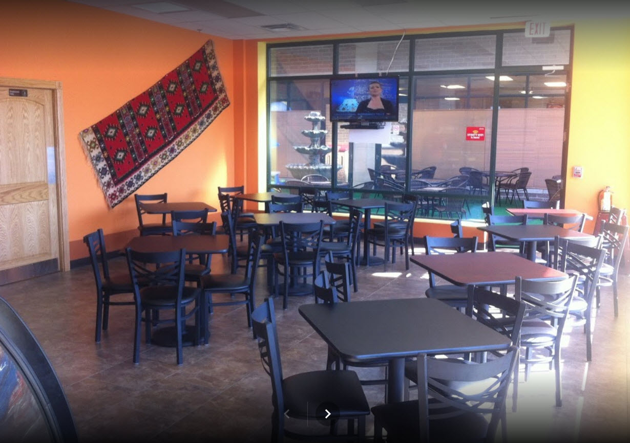 Affordable seating teams saray grill team up for a