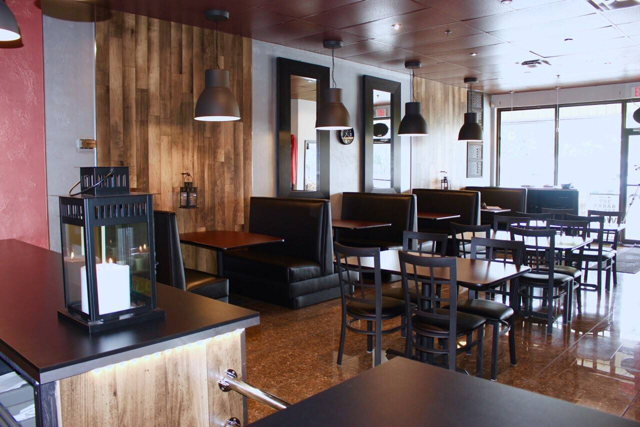 Restaurant furniture canada helps the kabab shoppe with