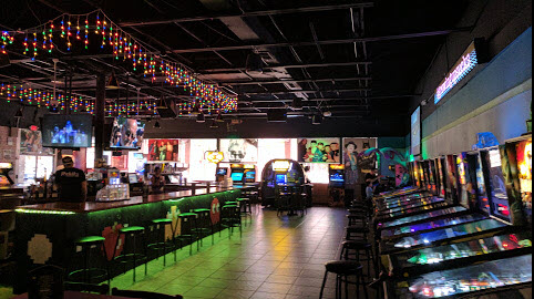 Rubik\'s Arcade Bar updates its interior bar design | Innovative ...